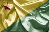 Flag of Acre — Stock Photo