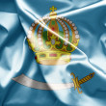Постер, плакат: Flag of Astrakhan Russia