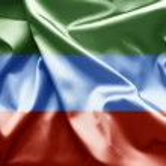 Постер, плакат: Flag of Dagestan Russia