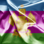 Постер, плакат: Flag of Krasnodar Russia