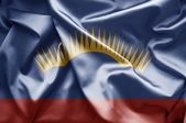 Flag of Murmansk (Russia) — Stock Photo