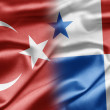 Turkey and Panama — Stock Photo