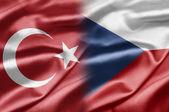 La turquie et la république tchèque — Photo