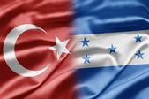 Türkiye ve honduras — Stok fotoğraf
