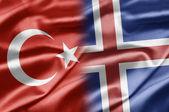 トルコ、アイスランド — ストック写真
