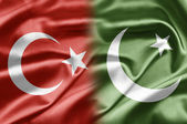Turkey and Pakistan — Stock Photo