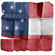 Royalty-Free Stock Photo: Confederate army\'s first national flag