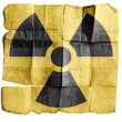 Radiation Sign - Stock Photo