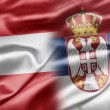 Stock Photo: Austriand Serbia