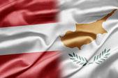 Áustria e Chipre — Fotografia Stock