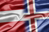 Austria and Iceland — Stock Photo