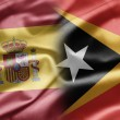 Stock Photo: Spain and East Timor