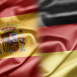 Stock Photo: Spain and Germany