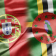 Stock Photo: Portugal and Dominica