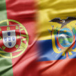 Portugal and Ecuador — Stock Photo