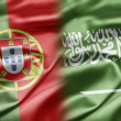 Stock Photo: Portugal and Saudi Arabia