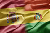 Spain and Bolivia — Stock Photo