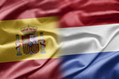 Spain and Netherlands — Stock Photo