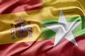 Spain and Myanmar — Stock Photo