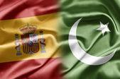 Spain and Pakistan — Stock Photo