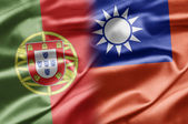 Portugal and Taiwan — Stock Photo