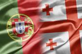 Portugal and Georgia — Stock Photo