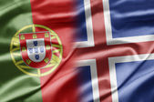 Portugal and Iceland — Stock Photo