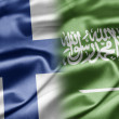 Stock Photo: Finland and Saudi Arabia