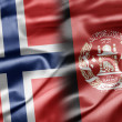 Norway and Afghanistan — Stock Photo #19329379
