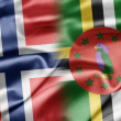 Stock Photo: Norway and Dominica