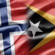 Stock Photo: Norway and East Timor