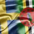 Stock Photo: Sweden and Dominica