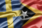 Sweden and East Timor — Stock Photo