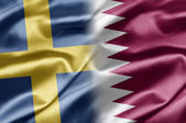Sweden and Qatar — Stock Photo