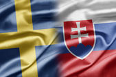 Sweden and Slovakia — Stock Photo