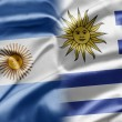 Stock Photo: Argentinand Uruguay