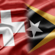 Stock Photo: Switzerland and East Timor