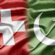 Stock Photo: Switzerland and Pakistan