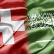 Stock Photo: Switzerland and Saudi Arabia