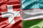 Switzerland and Uzbekistan — Stock Photo