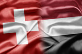 Switzerland and Yemen — Stock Photo