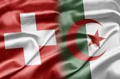 Switzerland and Algeria — Stock Photo