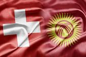 Switzerland and Kyrgyzstan — Stock Photo