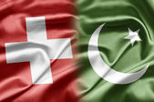 Switzerland and Pakistan — Stock Photo