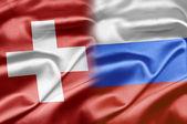 Switzerland and Russia — Stock Photo