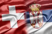 Switzerland and Serbia — Stock Photo