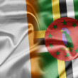 Stock Photo: Ireland and Dominica