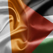 Ireland and Palestine — Stock Photo