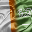 Stock Photo: Ireland and Saudi Arabia