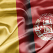 Stock Photo: Belgium and Afghanistan